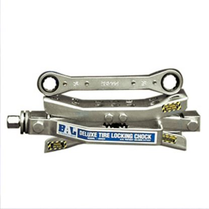 Picture of BAL Deluxe Silver Wheel Chock 28005 17-0275