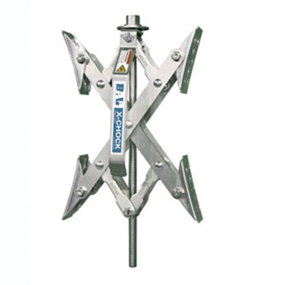 Picture of BAL X-Chock 2-Set Silver Wheel Chock 28012 17-0279