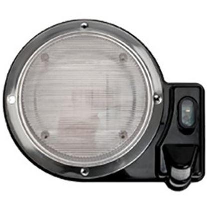 Picture of Starlights  Black Round Porch Light 016-SL2000B 18-0004