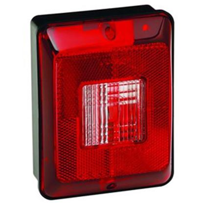 """Picture of Bargman 86 Series Red 5-13/16""""x4-3/8""""x2-7/8"""" Trailer Light 34-86-103 18-0060"""