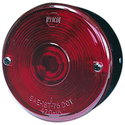 "Picture of Peterson Mfg.  Red 3-3/4"" Stop/ Turn/ Tail Light V428S 18-0120"