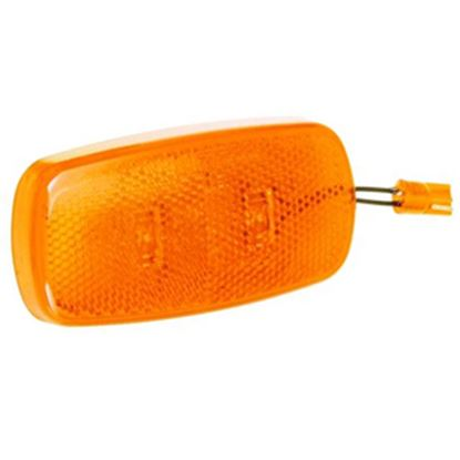 Picture of Bargman  Amber Side Marker Light Lens For Bargman 59 Series 47-59-412 18-0187