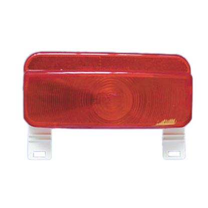 Picture of Command  Red Surface Mount Tail Light Assembly w/Bracket 003-81L 18-0221