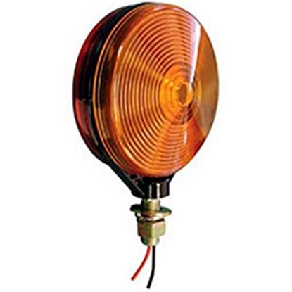 "Picture of Peterson Mfg.  Amber/Red 4-1/8"" Stop/ Turn/ Tail/ Park Light V313-2RA 18-0514"