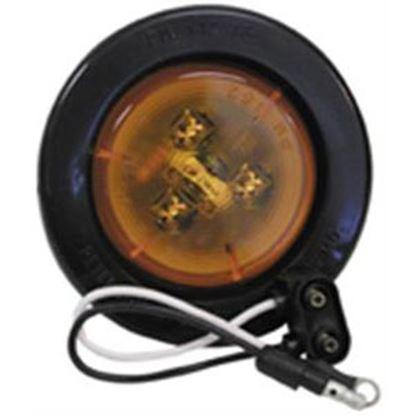 "Picture of Peterson Mfg.  Amber 2"" Clearance LED Side Marker Light V164KA 18-0661"
