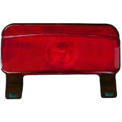 Picture of Command  Red Compact Tail Light Assembly w/Bracket 003-81LB 18-0925
