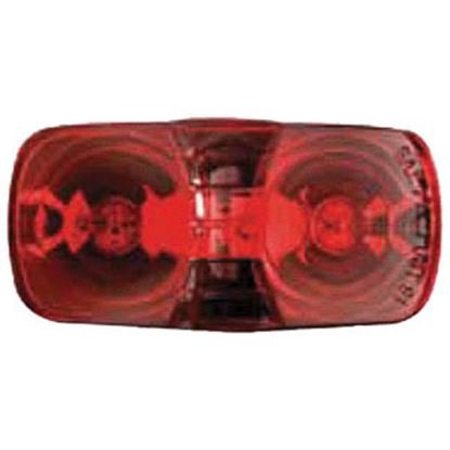 """Picture of Optronics  Red 4.094""""L x 2.125""""W x 1.125""""D Side Marker Light MC42RS 18-1009"""
