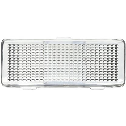 Picture of Peterson Mfg.  Clear Flat Rectangular Lens For Peterson Light Series Porch Light 384-15C 18-1056