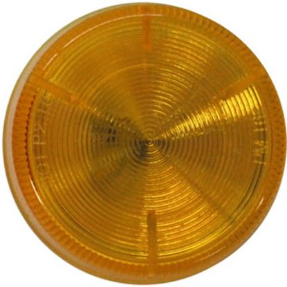 "Picture of Peterson Mfg.  Amber 2-1/2""Dia Clearance LED Side Marker Light V162KA 18-1326"