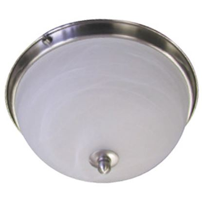 Picture of ITC  Brushed Nickel w/ White Glass Dome Light 39635-NI-D 18-1334