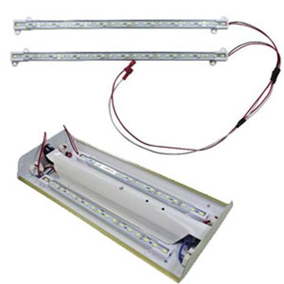 "Picture of Diamond Group  2-Pack Daylight White 18""L LED Strip Interior Light DG65102VP 18-1486"