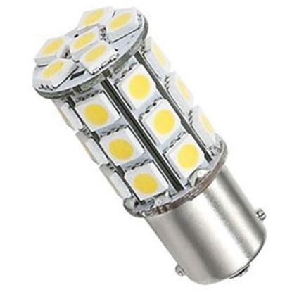 Picture of Green LongLife  1076 Style Warm White 250LM Multi LED Light Bulb 25005V 18-4304