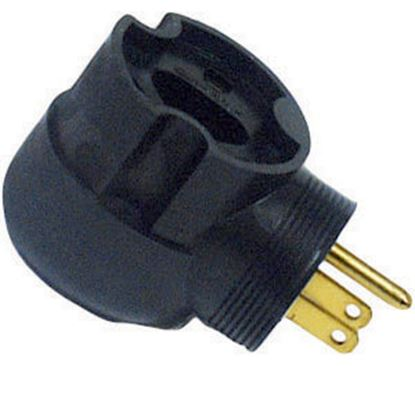 Picture of Surge Guard  30F/15M 90 Deg Power Cord Adapter 095245508 19-0360