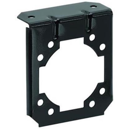 Picture of Bargman  7-Way Steel 90 Deg Bend Trailer Connector Bracket 50-77-071 19-1066