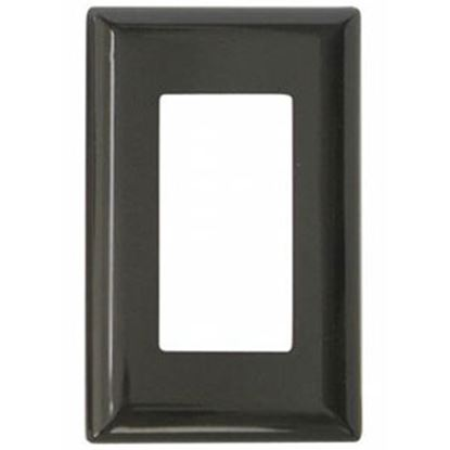 Picture of Diamond Group  Brown Single Speed Decor Opening Switch Plate Cover DG52493VP 19-1363