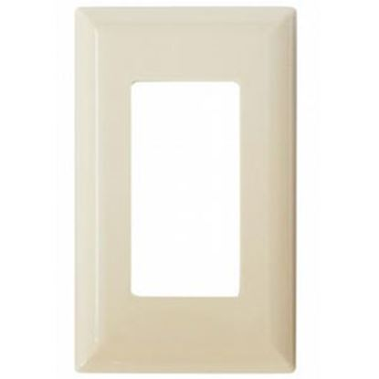 Picture of Diamond Group  Ivory Single Speed Decor Opening Switch Plate Cover DG52495VP 19-1365