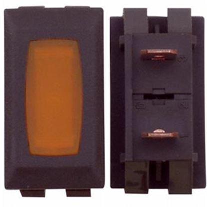 Picture of Diamond Group  14V Amber Indicator Light w/Brown Case DG714VP 19-2035