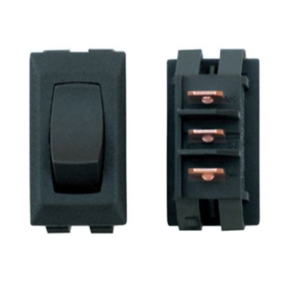 Picture of Diamond Group  1-Piece Black SPST Rocker Switch DG26UVP 19-2069