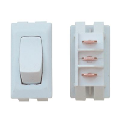Picture of Diamond Group  1-Piece Ivory SPST Rocker Switch DG86UVP 19-2072