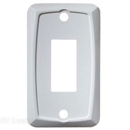 Picture of RV Designer  White Single Opening Multi Purpose Switch Faceplate S381 19-2464