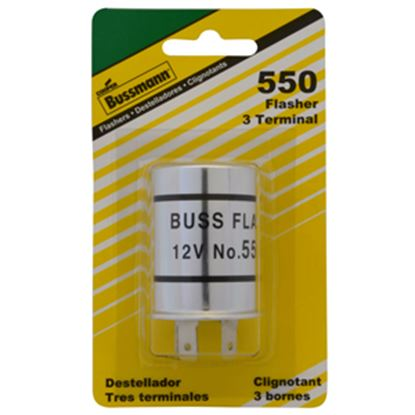 Picture of Bussman  3-Prong Heavy Duty Flasher BP/550-RP 19-3400