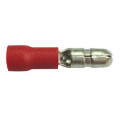 Picture of Battery Doctor  100-Pack 22-18 Ga Vinyl Male Bullet Connector Terminal 80244 19-3613