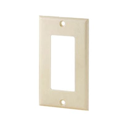 Picture of Cooper Wire Arrow Hart Ivory Thermoplastic 1-Gang Receptacle Cover 2151V-BOX 19-3813