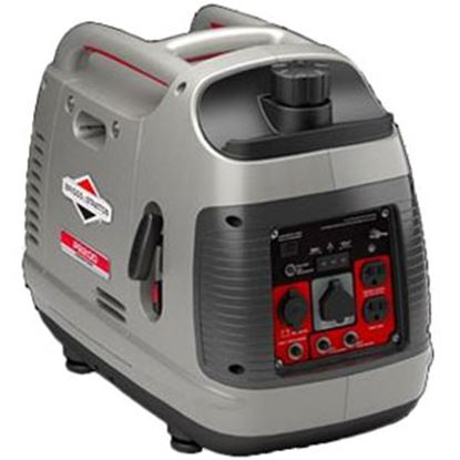 Picture of Briggs & Stratton PowerSmart Series (TM) 2000W Gasoline Recoil Start Inverter Generator 030651 19-4164
