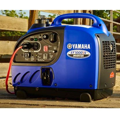 Picture of Yamaha  1000W Gasoline Recoil Start Inverter Generator EF1000ISC 19-4500