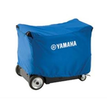 Picture of Yamaha  Blue Generator Cover w/Logo For Yamaha E3000iSE/EF3000iSEB  19-4533