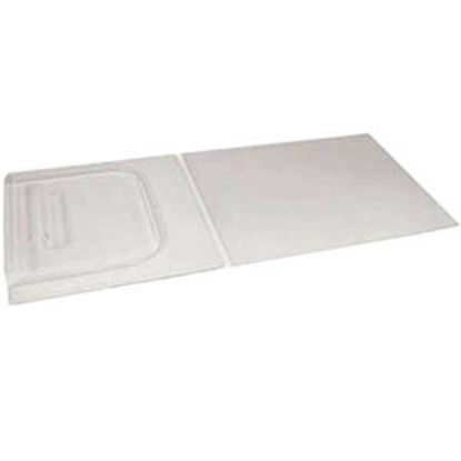 """Picture of Camco  12""""H X 28""""W Clear Molded Plastic Screen Door Slide 45591 20-0316"""