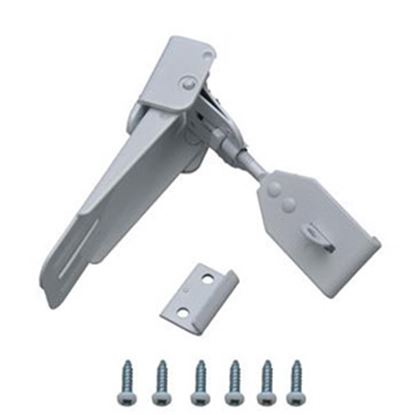 Picture of AP Products  White Non-Locking Camper Entry Door Latch 013-056-W 20-0475