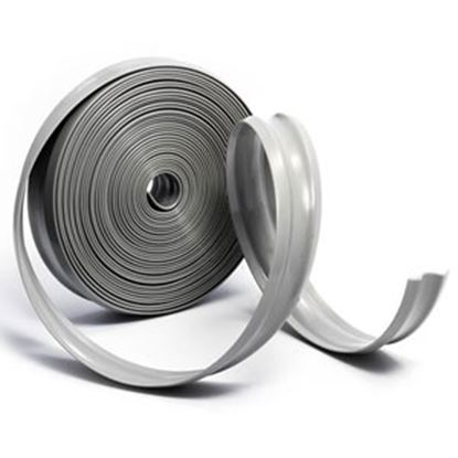 """Picture of Camco  Light Gray Vinyl 1"""" W X 1000' L Trim Molding Insert 25333 20-0749"""