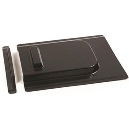 """Picture of Camco  9""""H X 11-1/4""""W Black Molded Plastic Screen Door Slide 45533 20-0860"""