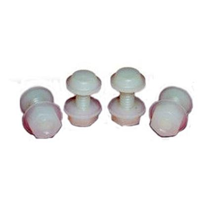 Picture of Prime Products  License Plate Fasteners, 4-Pack 15-2005 20-0987