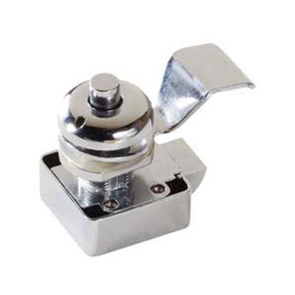 Picture of RV Designer  SLAM CAM PUSH NON-LOCK CHROME L601 20-1486