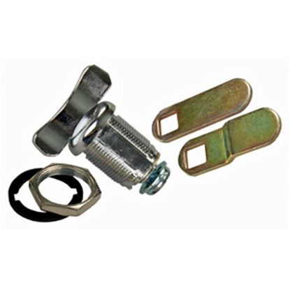 """Picture of JR Products  1-1/8"""" Baggage Door Thumb Lock 00135 20-1636"""