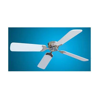 "Picture of Lasalle Bristol  White 42""Dia 12V Ceiling Fan 410TSDC42BNWH 22-0001"