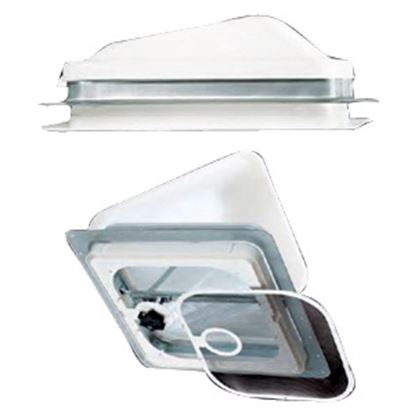 "Picture of Ventline  Polar White Aluminum 14"" x 14"" Roof Vent Lid V2110SP-24 22-0148"