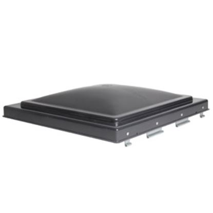"""Picture of Camco  Smoke Polypropylene 14"""" x 14"""" Old Ventline/ Elixir Style Roof Vent Lid 40148 22-0205"""