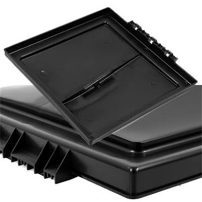 """Picture of Camco  Black Polypropylene 14"""" x 14"""" Elixir Style Roof Vent Lid 40176 22-0429"""