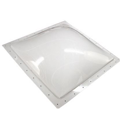 "Picture of Specialty Recreation  4-1/2""H Bubble Type Dome Square White Polycarbonate Skylight SL2222W 22-0705"