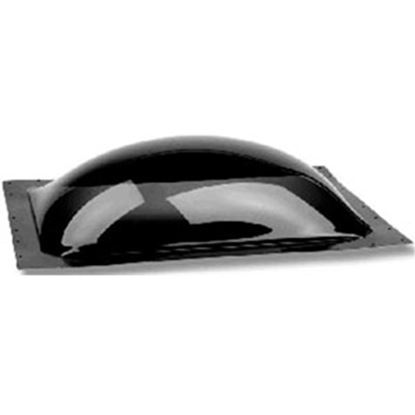 "Picture of Specialty Recreation  4-1/2""H Bubble Type Dome Square Smoke Black PC Skylight SL2222S 22-0706"
