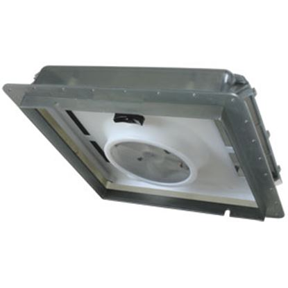 "Picture of Fan-Tastic Vent  Smoke 14""x14"" Roof Vent w/Fan 800601 22-2241"