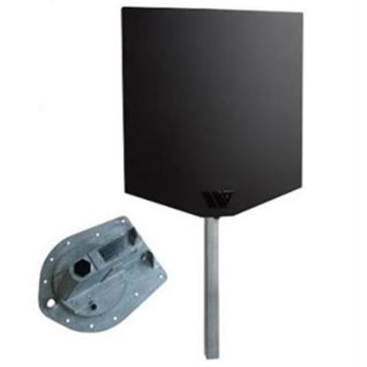 Picture of Winegard Rayzar (R) Air Black Multi-Directional Amplified Broadcast TV Antenna RVRZ39B 24-2004