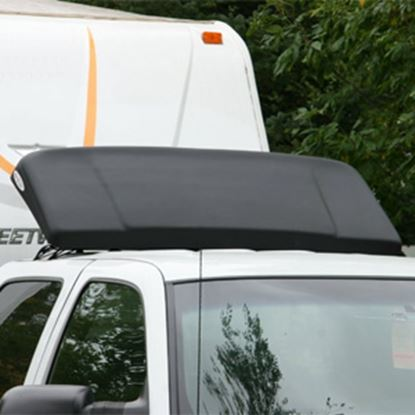 Picture of Icon AeroShield 48 Inch Width x 22 Inch Height Black Air Deflector 01216 25-0070