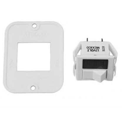 Picture of Dometic  White Atwood Electronic Ignition Water Heater Switch/Plate 91859 42-0182