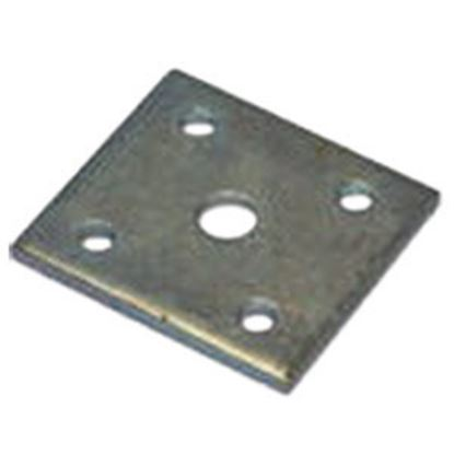 "Picture of AP Products  1-3/4"" Square Leaf Spring Plate 014-139874 46-6878"
