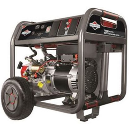 Picture of Briggs & Stratton Elite Series (TM) 7500W Gasoline Electric/ Recoil Start Generator 030552A 55-6358