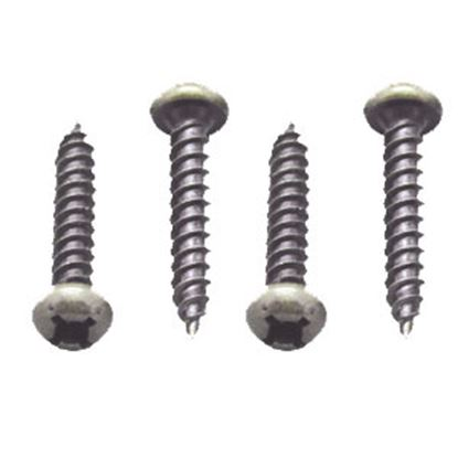 "Picture of AP Products  50-Pack #8 X 1""L Pan Head Square Recess Screw 012-PSQ50BZ 8 X 1 69-0060"